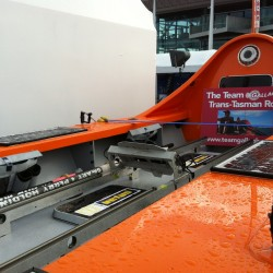 Ocean Crossing Row Boat at Auckland Boat Show