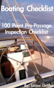 boating checklist, sailing information, boat inspection